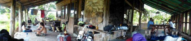 Campamento a las afueras de El Paují, Gran Sabana