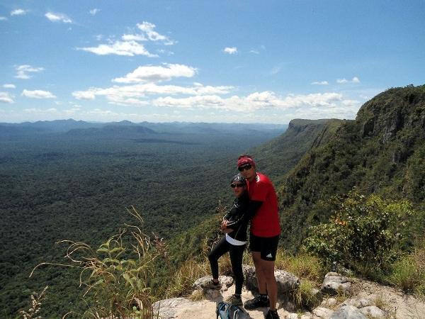 En el Abismo, esta es una barrera natural entre La Gran Sabana y la Selva Amazonica