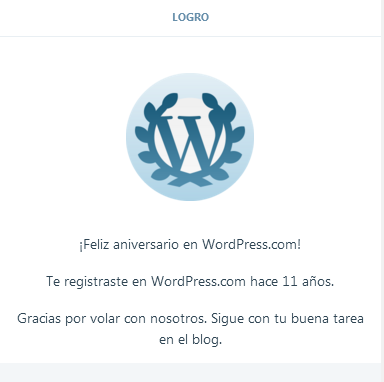 11 anos con wordpress.com