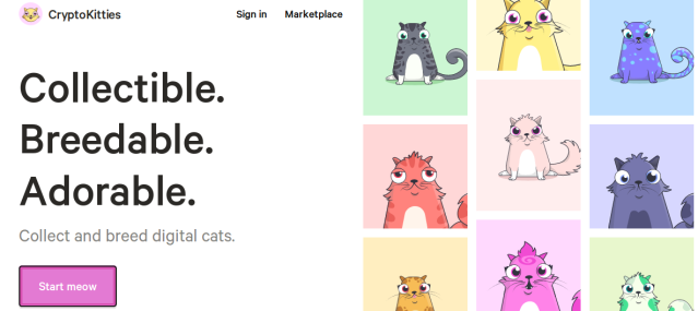 criptogatos o cryptokitties
