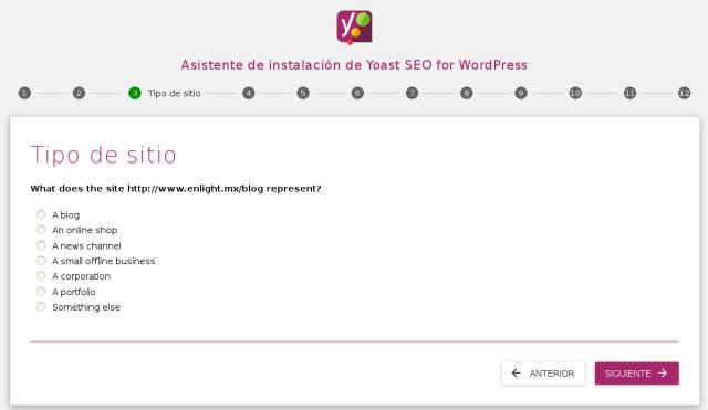pantalla de configuracion yoast seo numero 3
