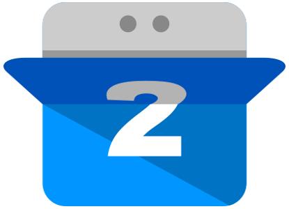 calendario logo icono